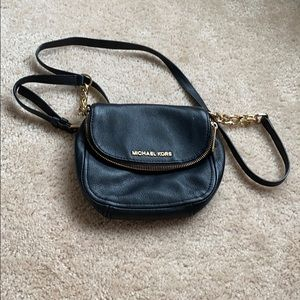 Michael Kor black crossbody bag